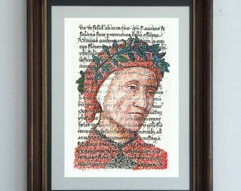Dante Alighieri - Portrait of the Italian Poet in the words of his masterpiece, The Divine Comedy Part One: The Inferno
