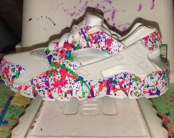 Custom Splatter Paint Huaraches
