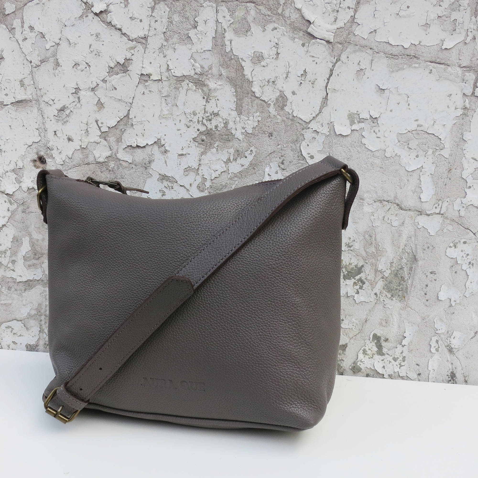 Fairtrade Handmade Classic Leather Shoulder Bag  f3b309f787346