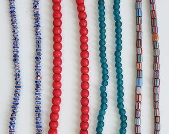 Jangali Nepali Plain and Pattern Mountain Necklaces in 4 options