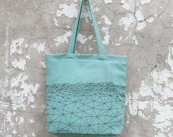 Bahra Zip Shopper (in 4 colours) with Himalaya Vista Design