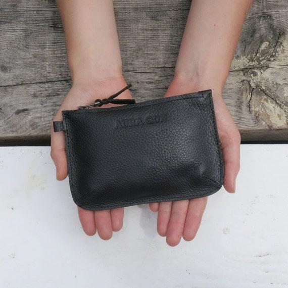 Fairtrade Handmade Classic Leather Zip Purse  d2b261502d5ae