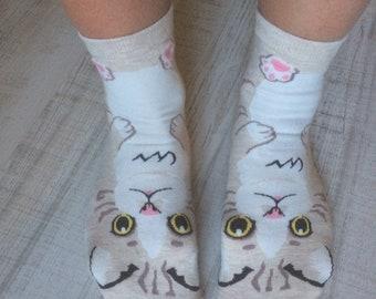 Funny Cats Socks