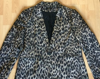 Leopard's Print Blazer / Veste Unisex