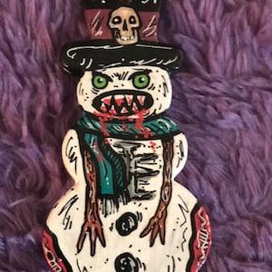 Monkey Suit Astronaut Custom Hand Painted Ceramic Ornament