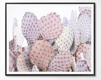 Cactus Print, Cacti art, Cactus Photography, Pink, Minimal photo, Desert Wall Art, Cacti decor, Minimalist art, Scandinavian Printable Art