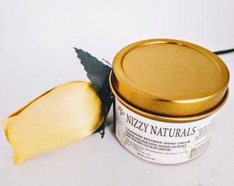 Organic Beeswax Cream, Lavender Hand Cream Gift, Natural Hand Cream, Organic Hand Balm, Natural Hand Moisturizer, Stocking Stuffer for Women