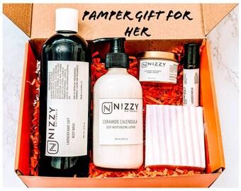 Christmas Pamper Gift for Her, Gift Box, Gift for Her, Meaningful Gift for her, Gift Box for Women, Natural Skincare Set, Women Gift Ideas