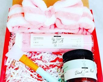 Pamper Gift set For Teenager, Gift for Daughter, Spa Set for Teenage girl, Natural Skincare, Birthday gift for Daughter, Gift for BFF