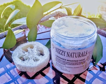 Whipped Soap  Lavender Whipped Soap| Shaving Soap| Whipped Body Soap| Natural Soap| Handmade Soap| Best gift| Natural Body Wash| Shave Cream