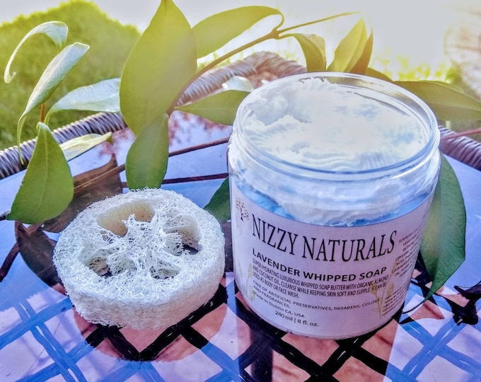 Featured listing image: Whipped Soap  Lavender Whipped Soap| Shaving Soap| Whipped Body Soap| Natural Soap| Handmade Soap| Best gift| Natural Body Wash| Shave Cream
