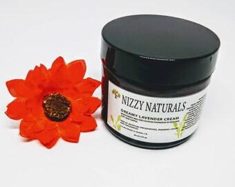 Lavender Face Cream, Cream for Dry Skin, Natural Face Moisturizer, Lavender Healing Cream, Vegan Moisturizer, Natural Skincare,