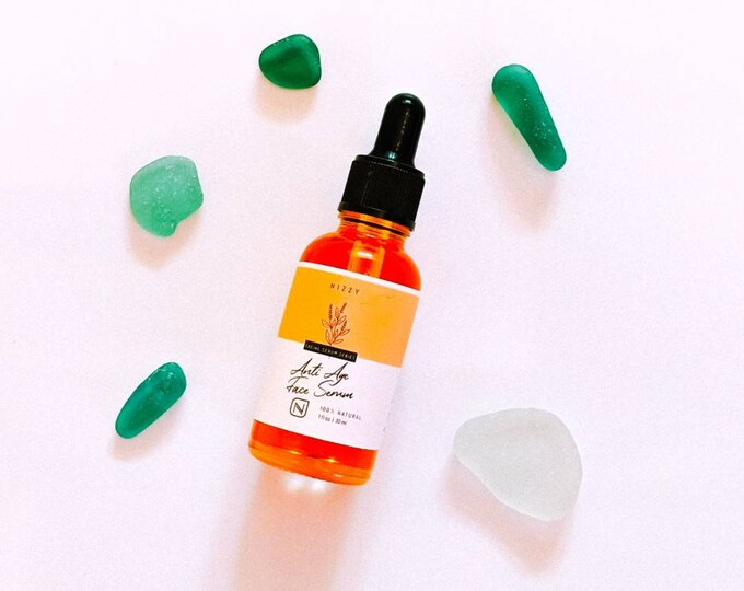 Featured listing image: Face Oil Serum - Face Oil - Rosehip Oil Serum - Serum for Dry Skin - Facial Oil - Facial Oil Serum - Anti Aging Face Oil