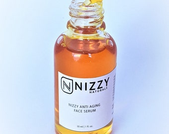Anti Aging Face Serum, Natural Face serum, Vegan Serum, Rose hip Seed Oil and Sea Buckthorn Oil, Glow face Serum, Natural Moisturizer