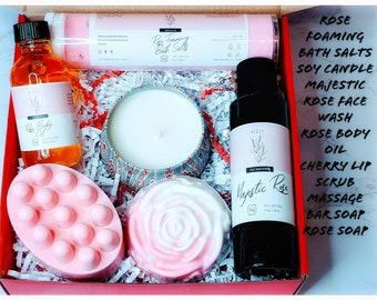 Care Package for friend, Spa Gift for Her, Gift Box for Women, Bath Gift Box for Her, Bath Gift Set, Care Package Her, Self Care Gift Set