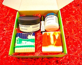 Quarantine Gift Box for Her, Quarantine Birthday Box for Women, Quarantine Care Package for Her with Natural Products, Self Care Kit Organic