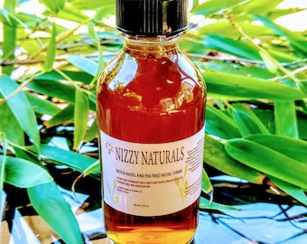 Witch Hazel Toner, Facial Toner, Acne Skin, Acne Treatment, Men's Skincare, Oily Skin Toner, Natural Skincare for Breakout Exfoliating Toner