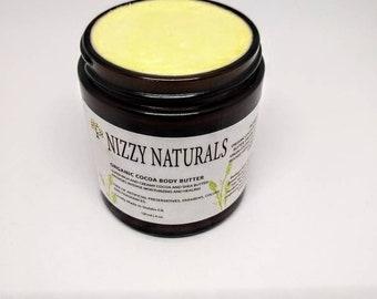 Organic Cocoa  Body Butter| Body Moisturizer| Whipped Body Butter| Organic Shea Butter| Natural Body Butter| Skin Care| Cocoa Butter|