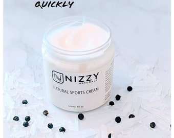 Natural Sports Cream,Joint and Muscle Pain Relief Moisturizer, Cool Moisturizer with MSM, Menthol, Sore Muscles After Exercise/Computer Use