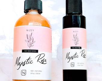 ROSE FACE WASH- Natural Face Wash- HandmadeUnisex Face Cleanser - Rose Skin Care Face Wash -Skin Moisturizer Face Wash - Beauty Product