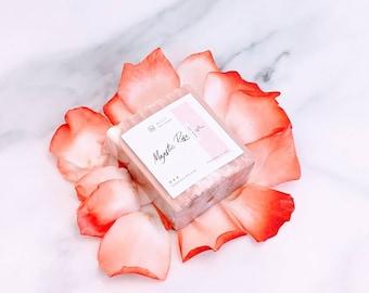 NATURAL Soap, Handcrafted Rose Soap Bar, Soap Bar, Goats Milk Soap, Natural Bar Soap, Wedding Favors, Soap Favors, Stocking Stuffer, Holiday