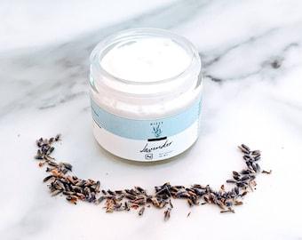Natural Face Moisturizer, Organic Face Cream, Vegan Face Cream, Natural Skin Care, Hydrating Face Cream,  Zero Waste Skincare, Free Shipping