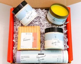 Foot Scrub Spa Kit, Foot Care Gift Box, Foot Care Gift, Foot Spa Kit, Foot Pampering Spa Gift Box, New Mom Care, Pamper box, Birthday Gift