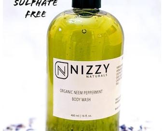 Natural Organic Body Wash, Sulfate Free Body Wash, Body Wash Organic, Natural Colors, Essential Oils, Parabens Free Body Wash