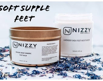 Foot Spa Kit, Foot Care Kit,  Lactic Acid Cream, Care Package for Feet, Foot Products, Foot Balm Set, Long Distance Gift for Loved