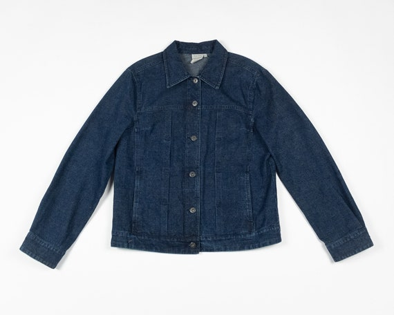 DENIM CHORE Jacket / Y2K Vintage Jean Workwear Cho