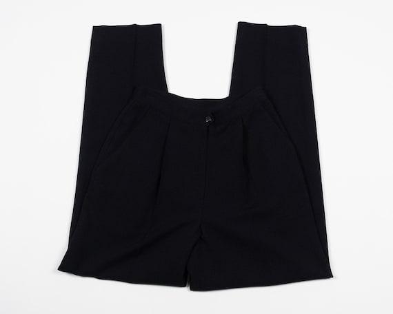 Waist 26 Inches / HIGH WAIST Trousers / Vintage 90