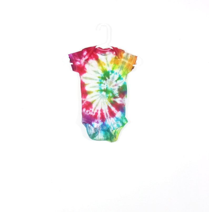 Tie Dye Baby Gerber Onesie Child Of Mine