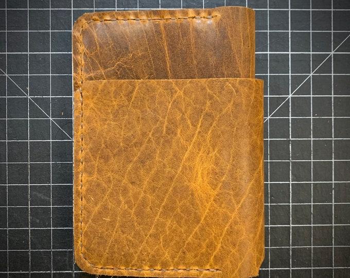 Handmade Whiskey Bison wallet