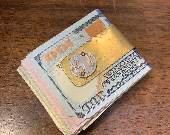 Reclaimed Vietnam Artillery shell money clip