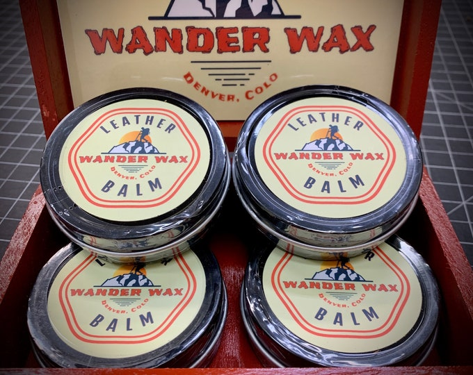 All Natural Leather Cleaner and Conditioner Wander Wax
