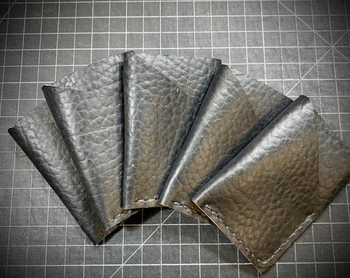 Black Bison Horween CXL double sleeve wallet