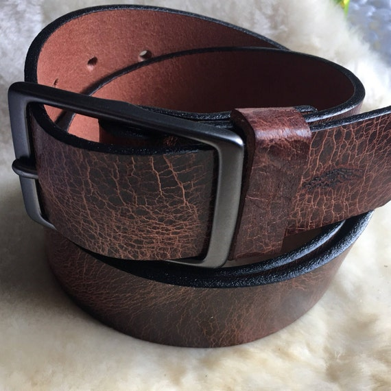 Bison/Buffalo Leather Belt