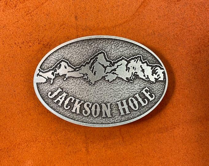 Jackson Hole belt buckle