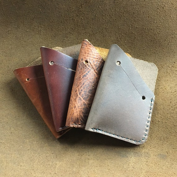 Single Pocket Wallet With Cash Slot