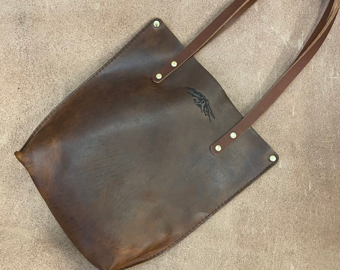 Small Bison leather Tote