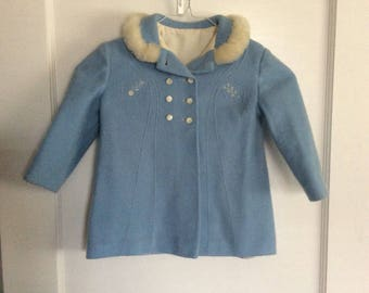 c7c179b5e202 Vintage toddler coat