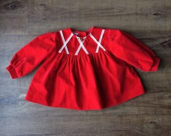 16a4f7a36f4a Girls velvet dress