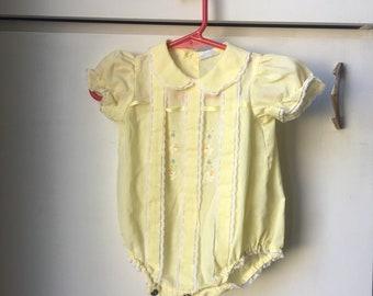 3c9fb76e5e6b Vintage baby romper