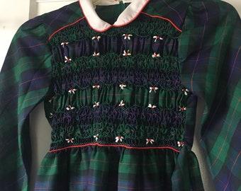 3fd8e1e188df Smocked Christmas Dress - Polly Flinders smocked dress