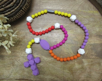 Catholic easter gift for baby and children chewable rosary catholic easter gift for baby and children chewable rosary teething chew rosary great for easter baskets negle Choice Image