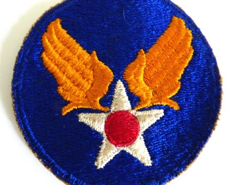 0abd367cb35 Vintage US Air Force military patch from WW II