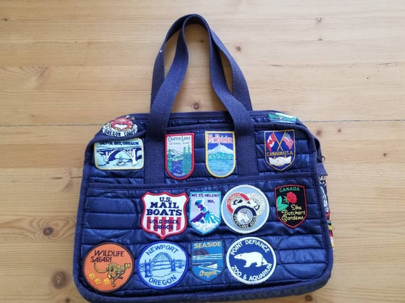 Vintage Patches 31 Vintage Travel Patches Handsewn