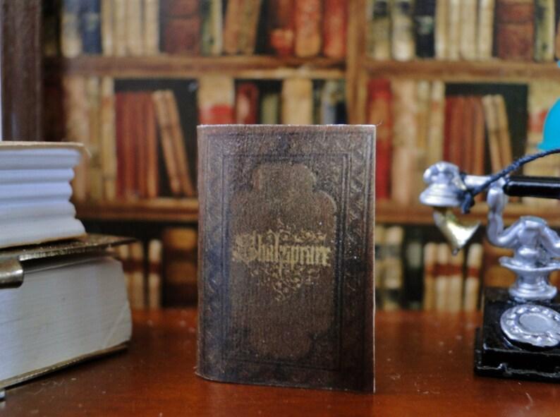 Dollshouse Miniature Book King Richard III