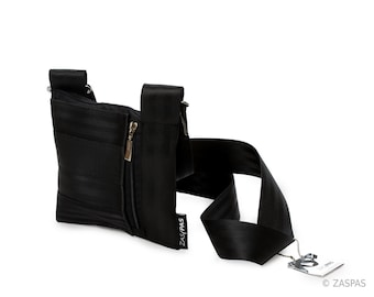 Recycled seatbelts bag - BLK 50-13