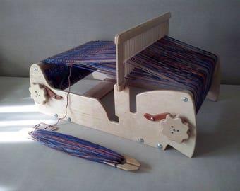 """12"""" Weaving Loom + 2reed + 3Shuttles, Weaving loom, Table loom, Cricket Loom, Rigid Heddle Loom, Weaving, Sampleit Loom"""